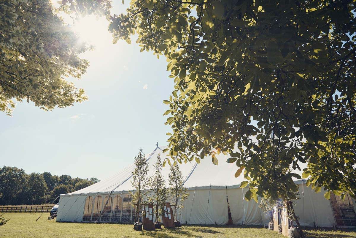 Suffolk Woodland Fairy Wedding Marquee - www.helloromance.co.uk