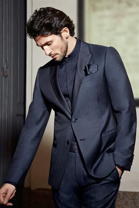 Best 25  Blue tuxedos ideas on Pinterest   Navy blue