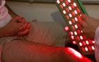 Manta de luzes  é melhor para tratar lesões (Paulo Chiari / EPTV)