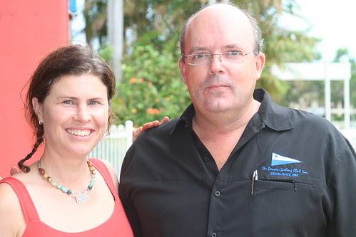 Brooke Barnett  with Duncan