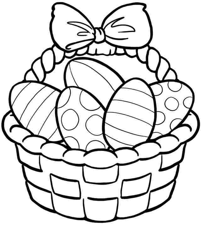 570 Top Easter Coloring Pages Free Download Images & Pictures In HD