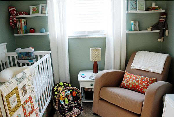 Dressing Up your Baby's Nursery with Retro Modern Style