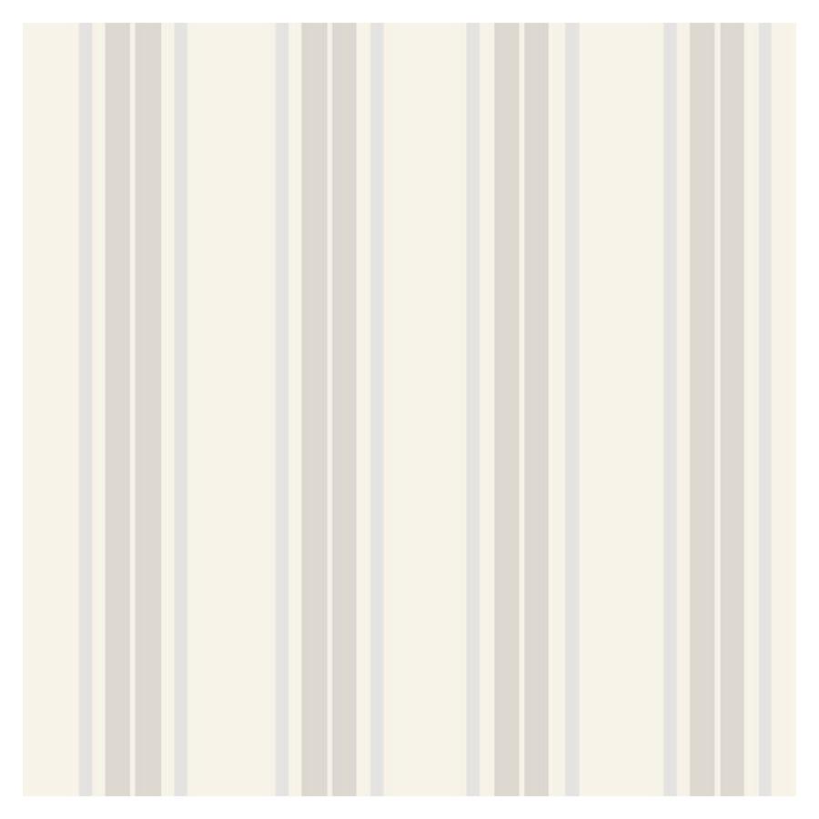 Shop allen   roth Contemporary Stripe Wallpaper at Lowes.com