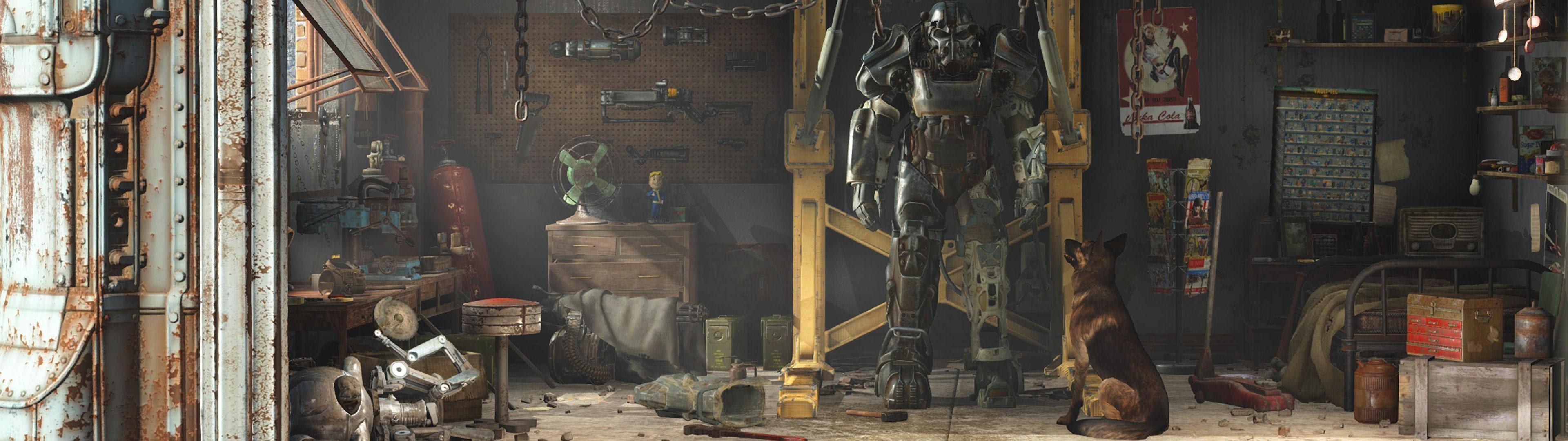 Dual Monitor Wallpaper Fallout 4 Andrea Gonz