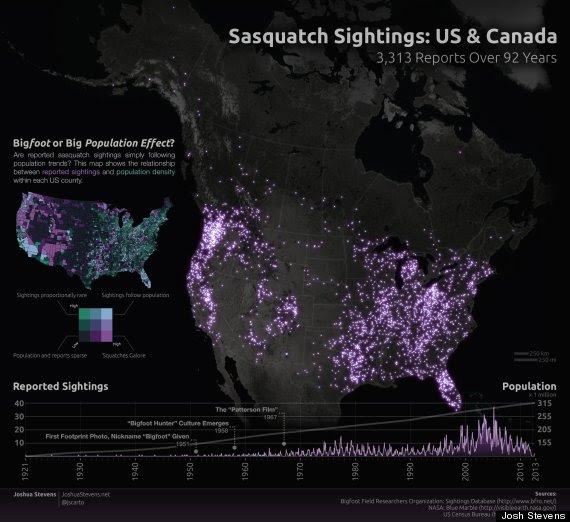 bigfoot map