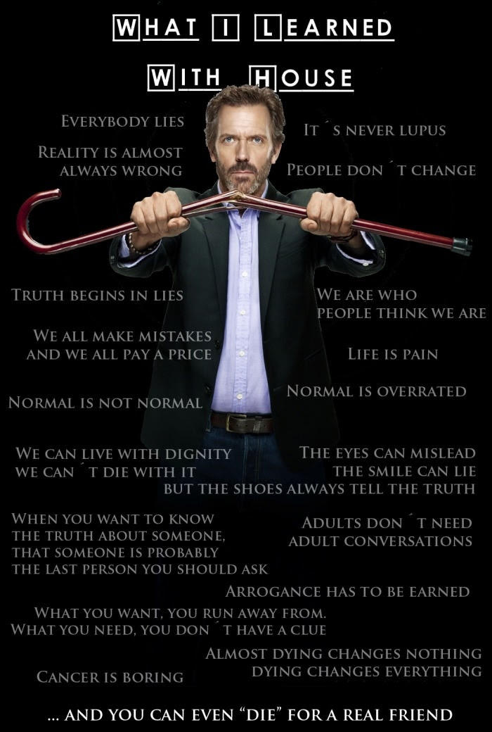 What I Learnt From House Md