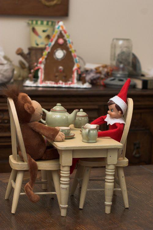 more elf on the shelf ideas!
