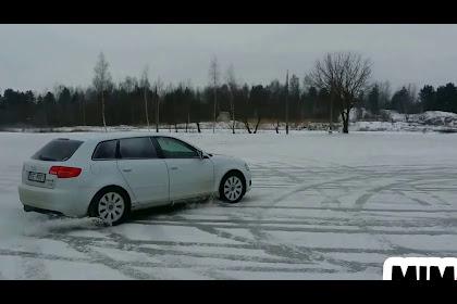 Audi A3 Awd In Snow