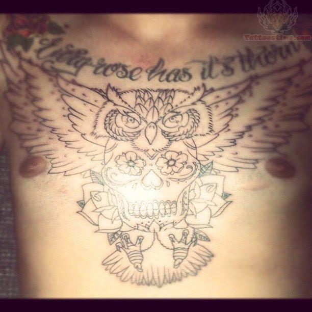 Owl Sugar Skull Tattoo Meaningdenenasvalencia