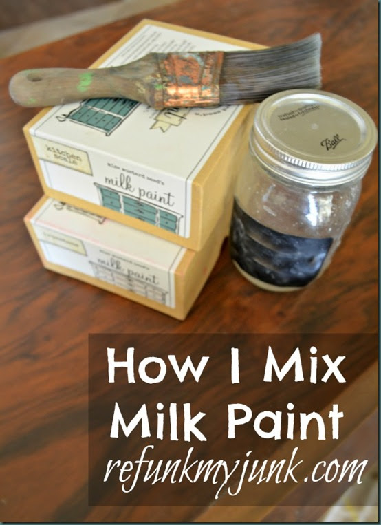 Tuesday Tips: How I Mix Miss Mustard Seed's Milk Paint ...