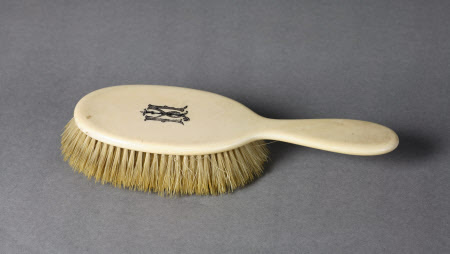 19th century hairbrush, from the UK National Trust Collections.