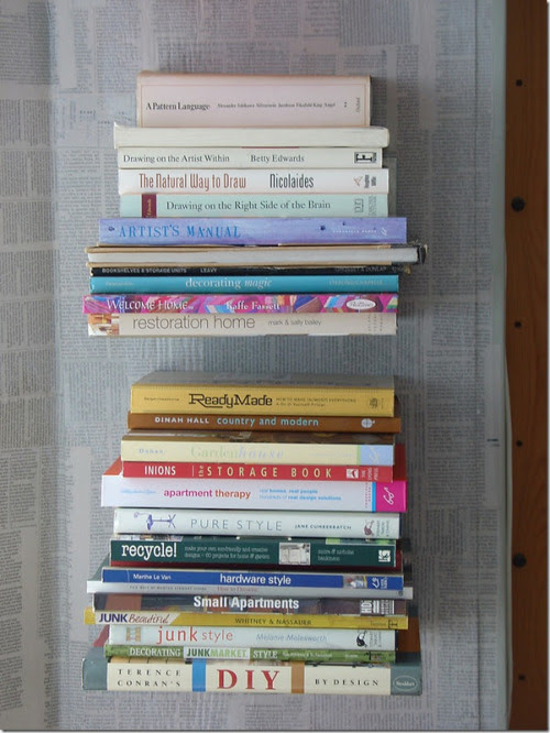 May December Home: Invisible Bookshelves