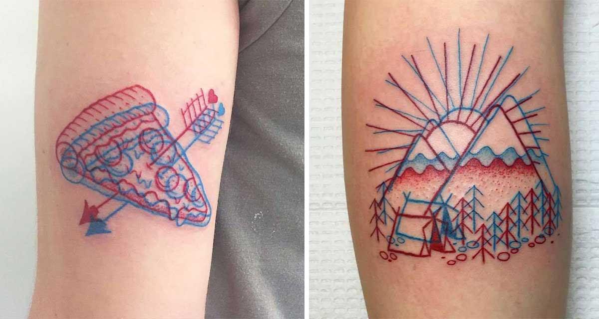 Para Ver Estos Increíbles Tatuajes En 3d Necesitarás Uno Lentes Muy