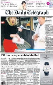 UK Newspaper Front Pages for Thursday, 27 August 2015 | Paperboy ...