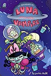 Luna the Vampire book cover