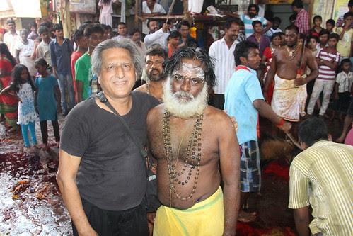Velu Head Priest Marriammen Temple Nehru Nagar Juhu by firoze shakir photographerno1