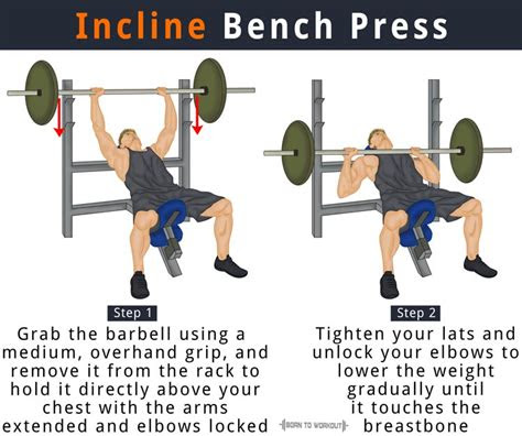 incline bench press    benefits forms muscles