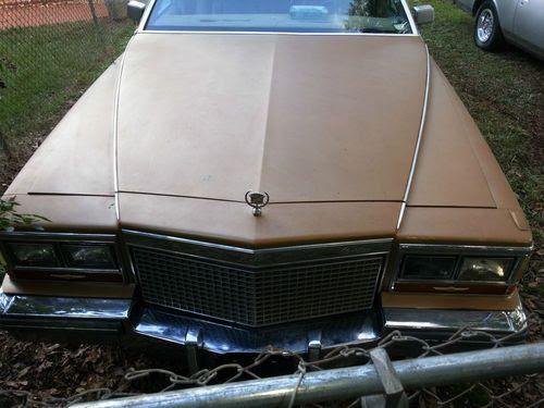 Buy used 1981 Cadillac Fleetwood Brougham Sedan 4-Door 6 ...