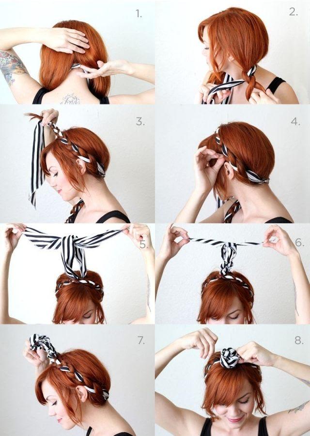 Einfache Rockabilly Frisur Schnell Lange Haare