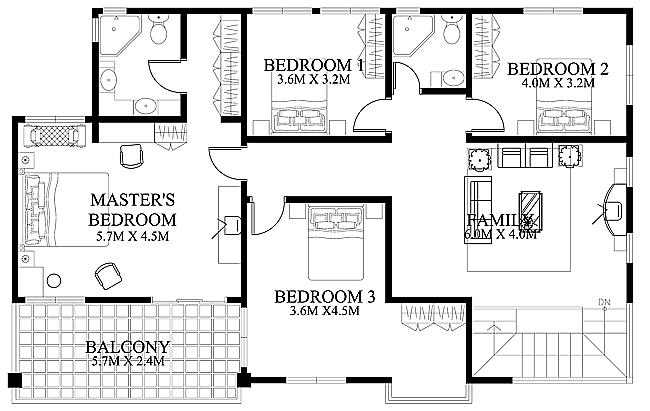 Modern House Design 2012002   Pinoy ePlans