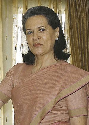 Sonia Gandhi, Indian politician, president of ...