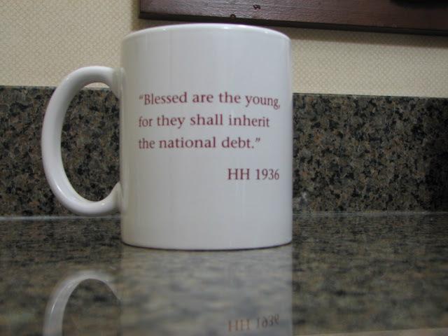 Prescient coffee mug