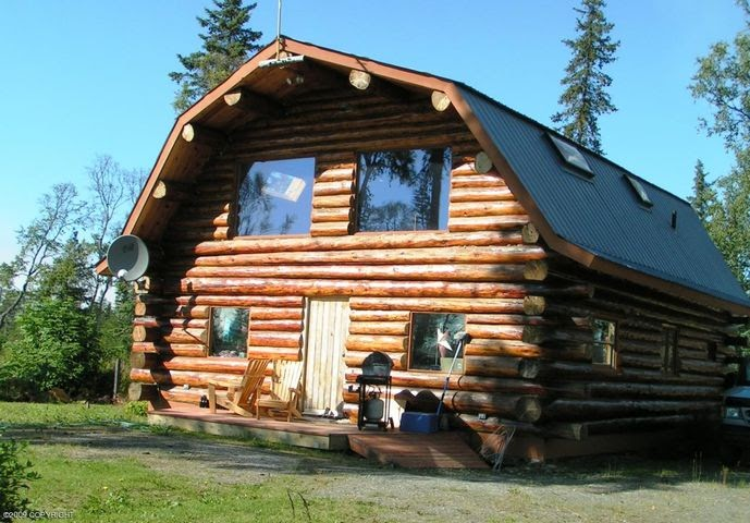 Homer alaska real estate alaska log cabin for sale just for Alaska cottage