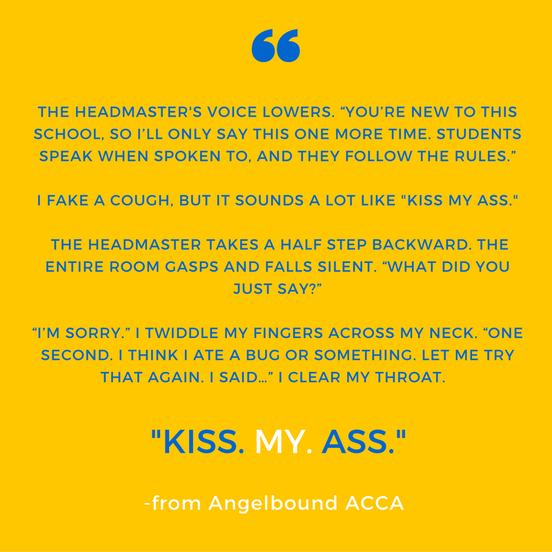 My Fav Quotes From Acca Monster House Books