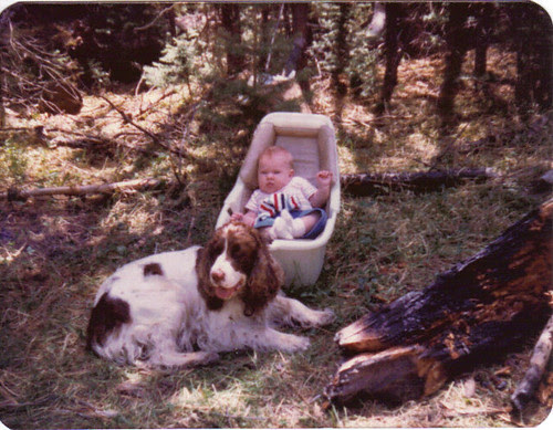 Sheena(4mos) & Clem 1983