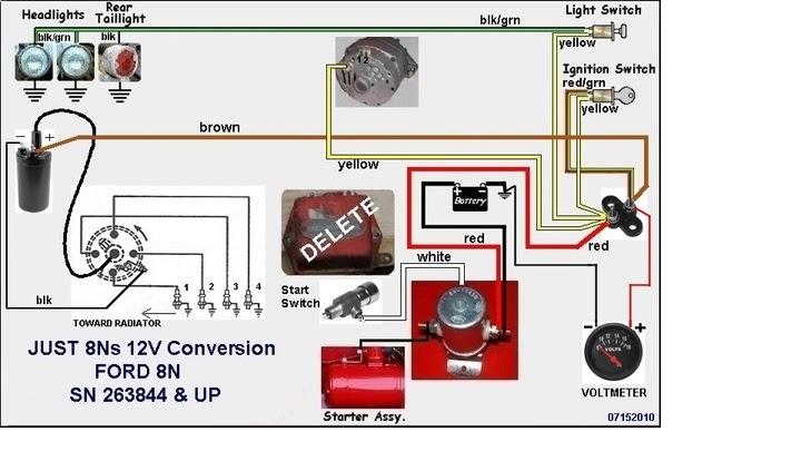 28 8n Ford Tractor Wiring Diagram 6 Volt - Wiring Diagram List
