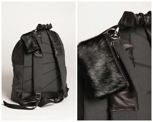 NICOMEDE TALAVERA x EASTPAK - black backpack detail