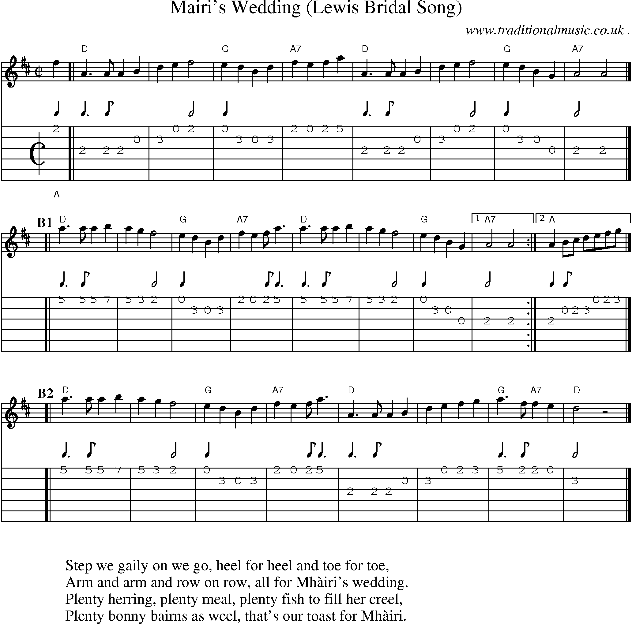 The ring wedding song chords