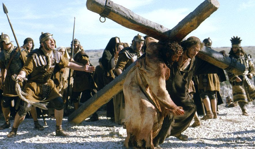"Scene from the film ""The Passion of the Christ."""