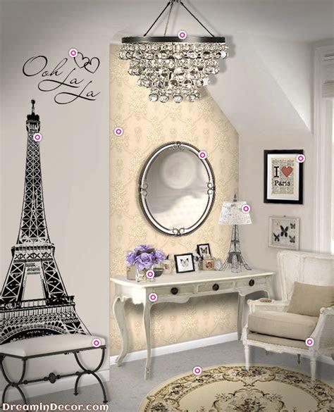 ultimate decor   paris themed bedroom amberise