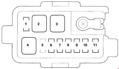 03 08 Honda Pilot Fuse Box Diagram