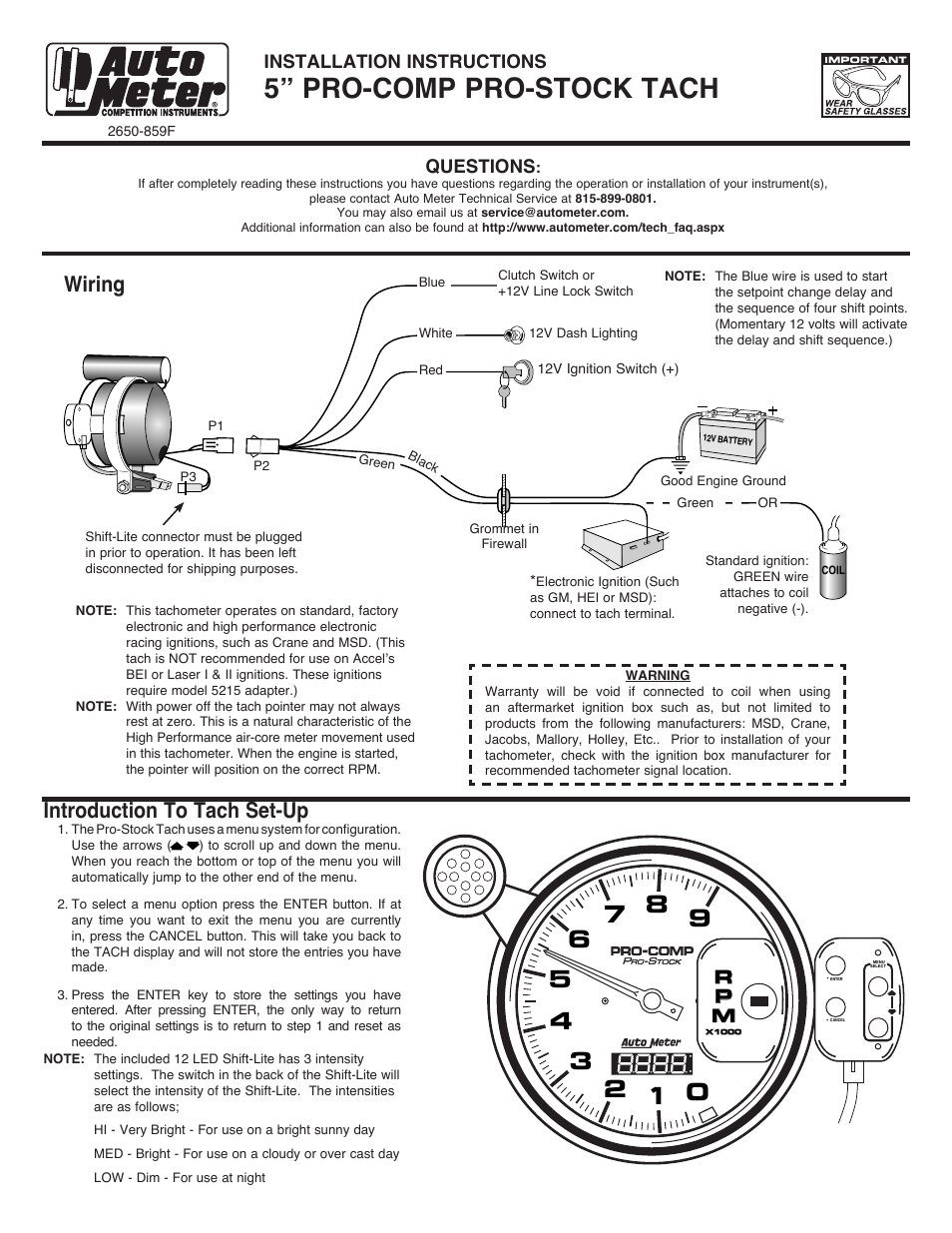 35 Autometer Pro Comp 2 Wiring Diagram