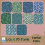 Liquid Effect PS Styles & Patterns