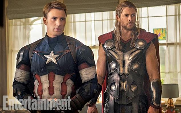 Thor y Capitán America 2015