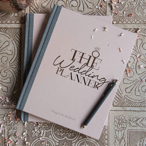 wedding planner notebook and journal by illustries