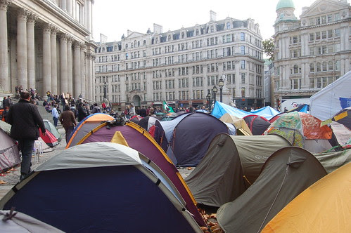 Occupy St Pauls Nov 11 5