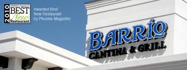 Barrio Cantina and Grill, Phoenix AZ