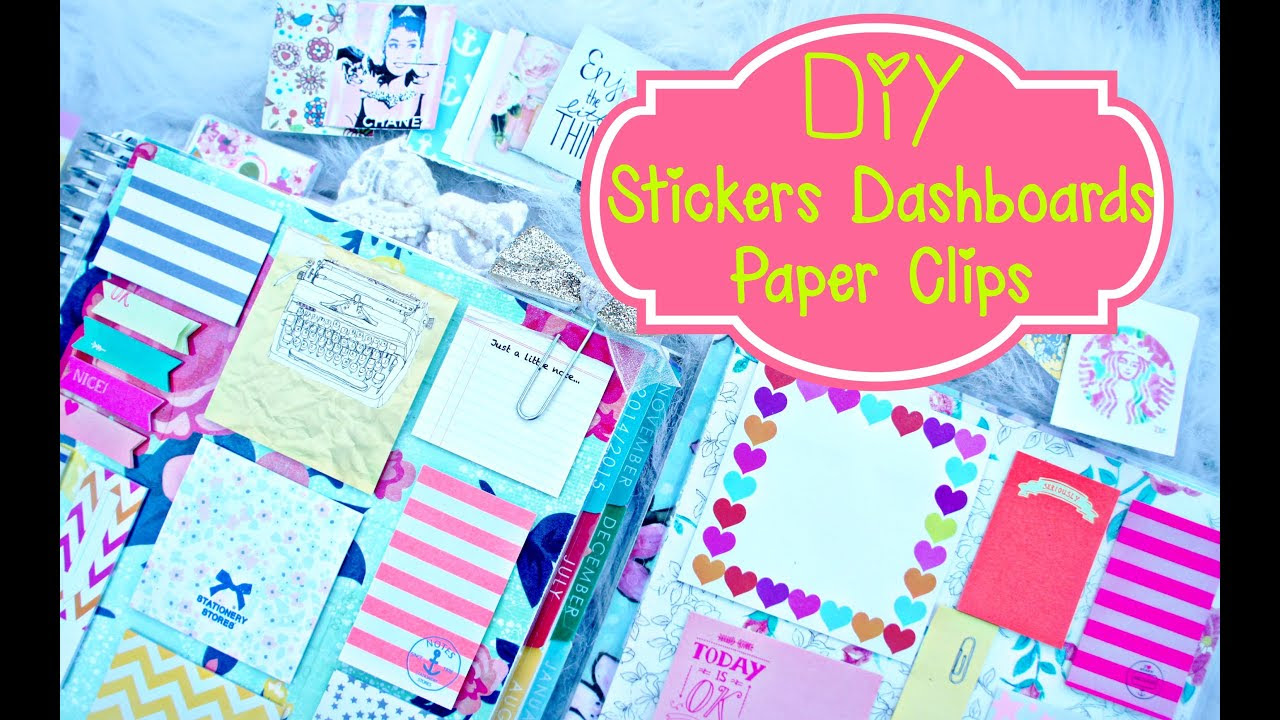 DIY Planner Supplies: Stickers, Paper Clilps, and Erin Condren ...