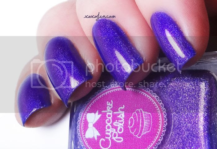 xoxoJen's swatch of Cupcake Polish Yule Be Missing Me