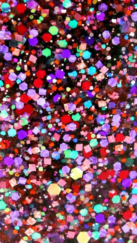 glitter sparkle glow iphone wallpaper color