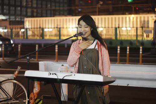 Yui Ibuki at the South Exit of Shinjuku Station 2