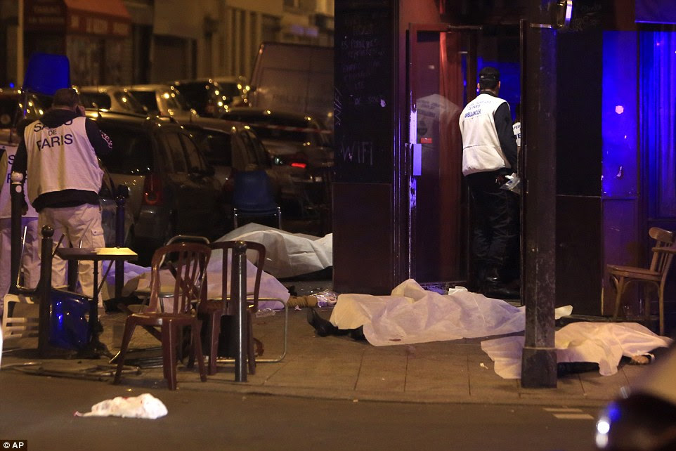 A series of coordinated terror attacks in the heart of Paris have left as many as 142 dead, including 11 at a restaurant on Rue Bichat