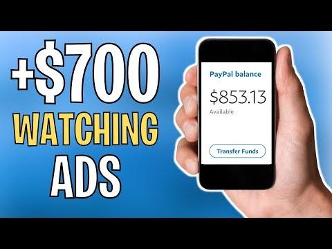 Make $700+ Watching ADS *100% FREE* - Make Money Online 2021