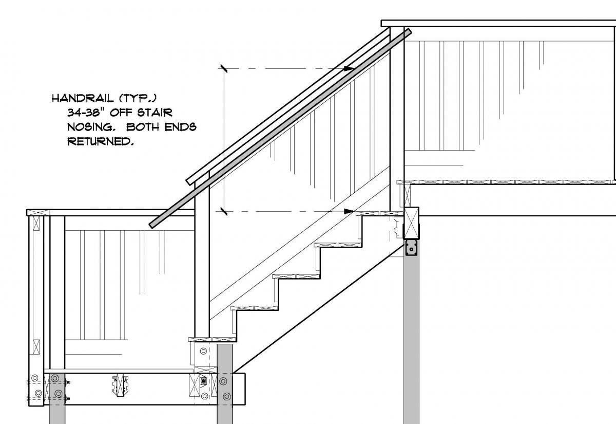 Deck Stair Railing Height Code Marcuscable Com