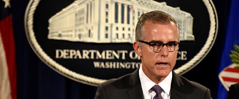 Key FBI official McCabe too busy to make appearance before House Intelligence  Committee