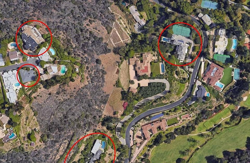 Everything Musk go! Elon sells four of his Los Angeles mansions to high-powered real estate developer with an asking price of $62.5million after vowing to sell all of his material possessions